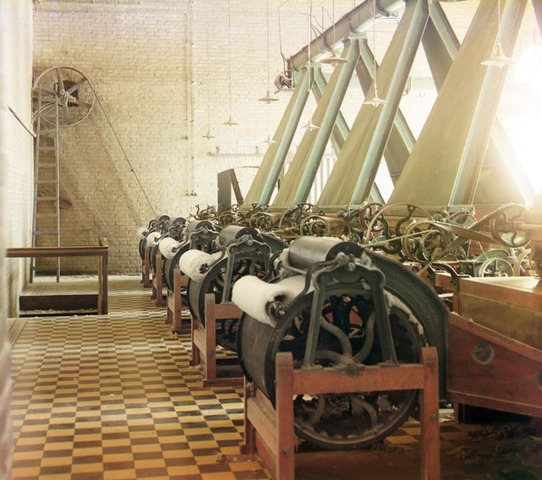 First textile factory built in the USA