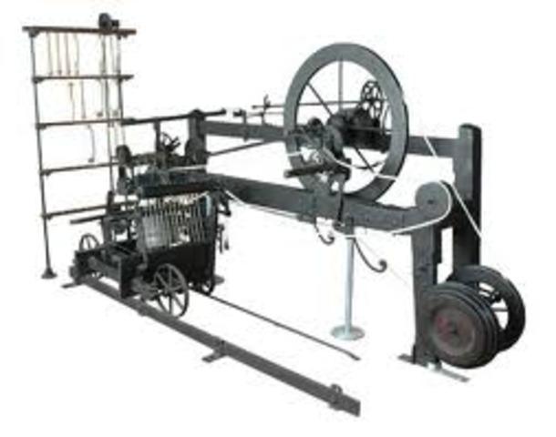 Samuel Cromptom invents the spinning mule