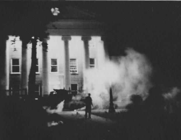 Riots break out on the campus at the University of Mississippi