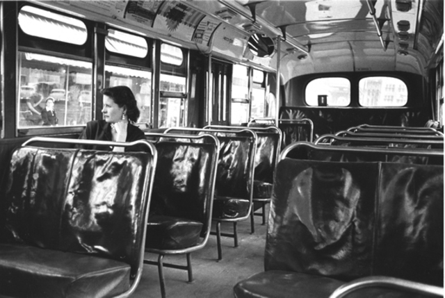 The Montgomery buses are desegregated and black passengers could legally take any seat on the city's buses