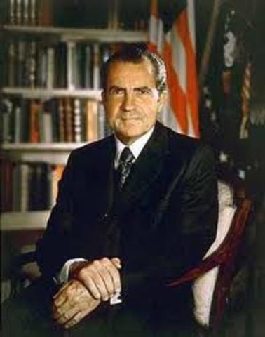 Nixon Takes Office