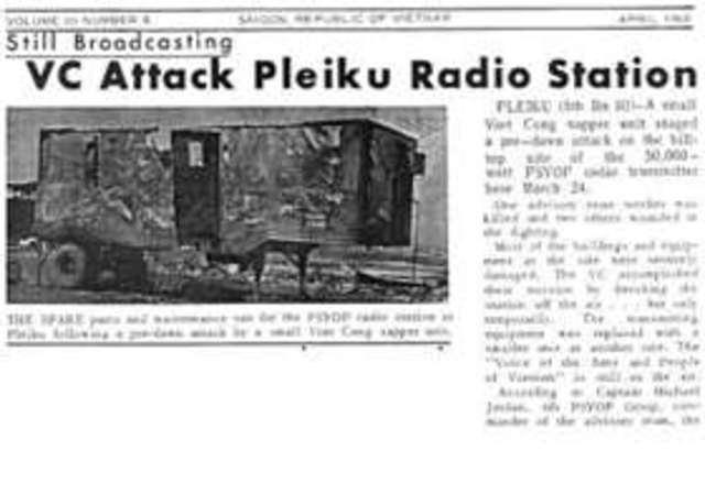 Attack on Pleiku