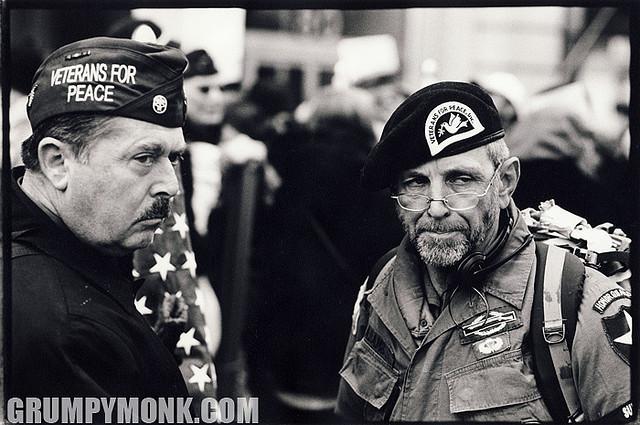 Veterans Against War