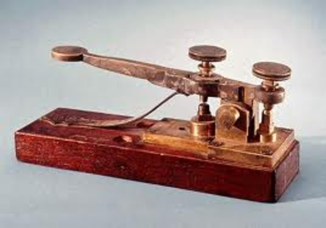 Samuel Morse sents first successful telegraph message