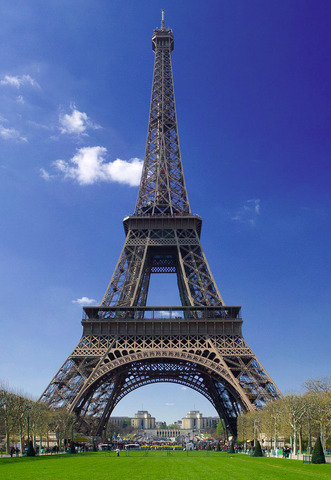 Eiffel tower completed in France