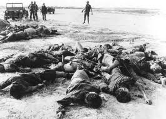 Vietminh  defeat French at Dien Bien Phu; Geneva Accords are signed in Paris
