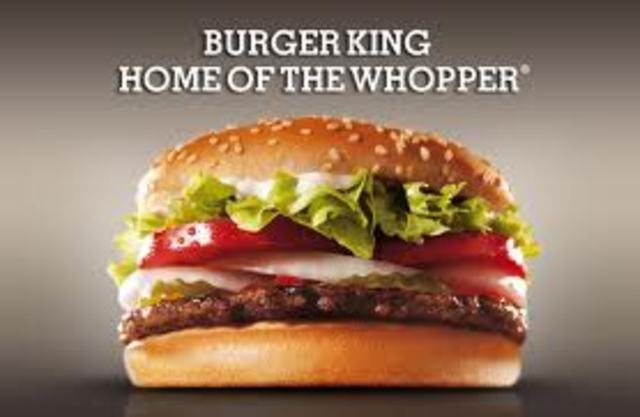 The Whopper is launched.