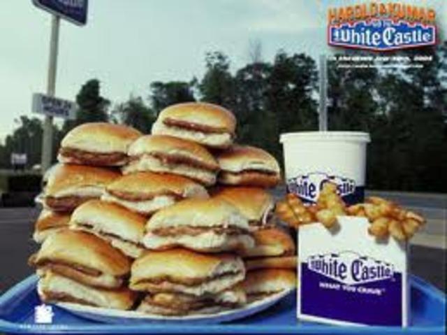 White Castle sells its billionth burger.
