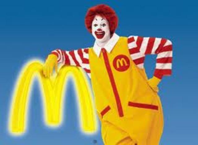 Ronald McDonald is born.
