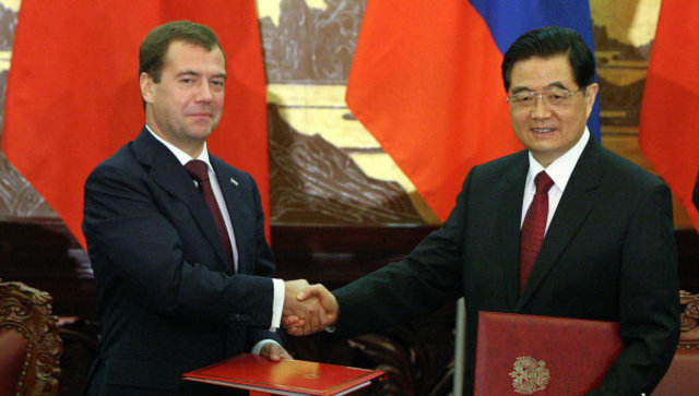 China-Russia relations and the United States