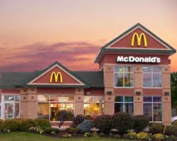 McDonald's becomes super popular.