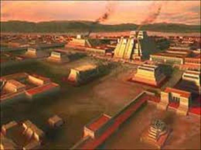 Founding of Tenochtitlan