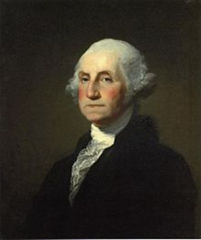 George Washington, John Adams, First Congress Meeting