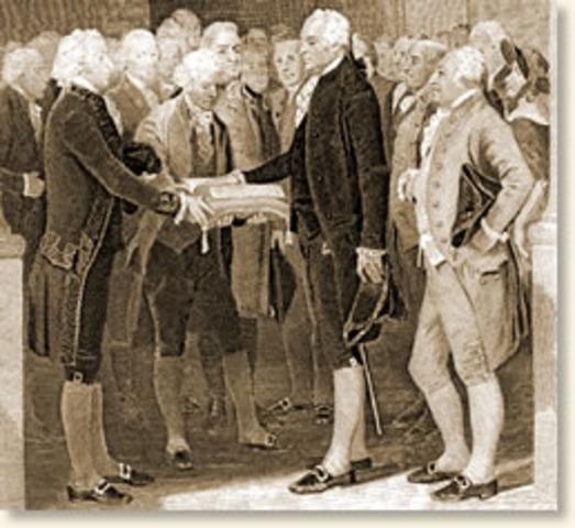 Washington Inaugeration