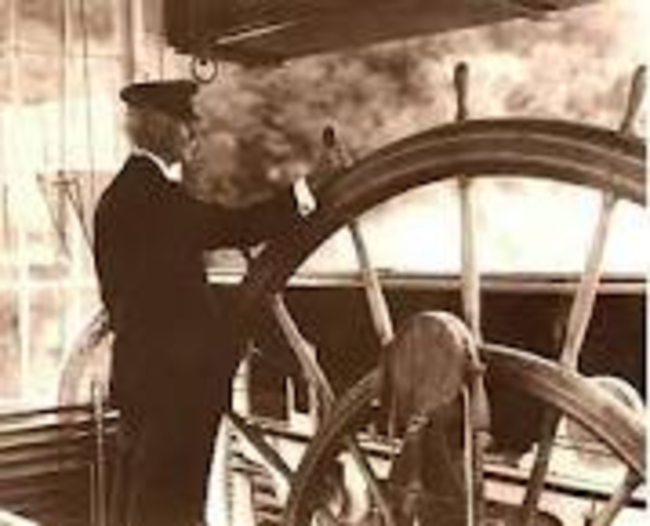 He soon became a pilot on steamboat