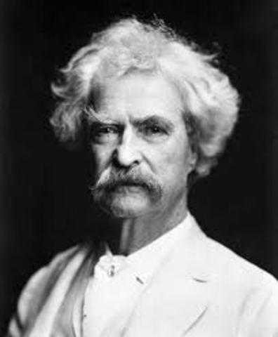 Mark Twain die.