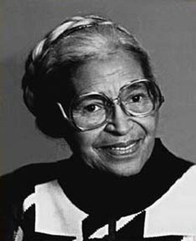 Rosa Parks becomes Deaconess