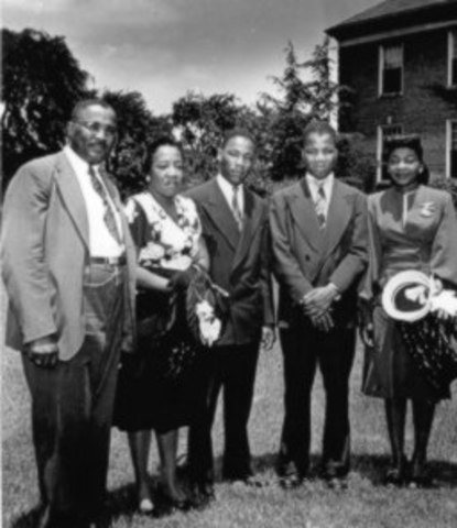 MLK is ordained to Baptist ministry and graduated from Morehouse College
