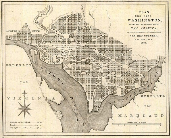 D.C. is used for the first time as the nations capitol
