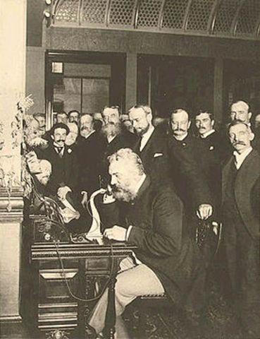 Bell's Telephone Demonstration