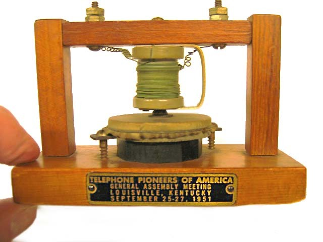 Bell's 1st Functioning Telephone