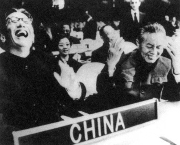 China join the UN