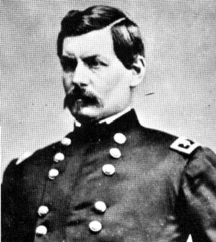 George B. McClellan named General of Army of Potomac