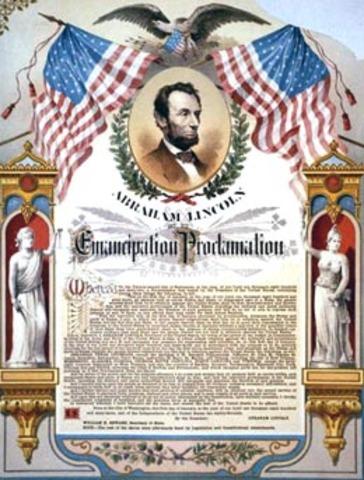 Emancipation Proclamation issued