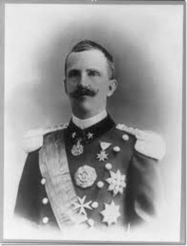 King victor Emmanuel III had the dictator arrested.