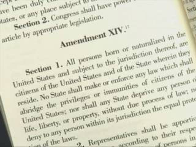 Ratification of the 14th Amendment