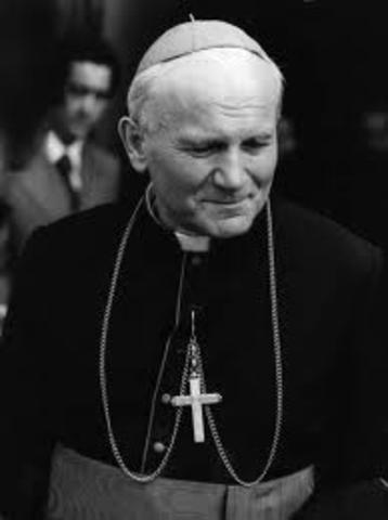 John Paul ll Becomes Pope