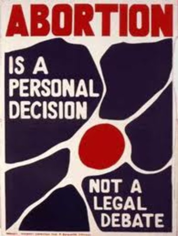Abortion is Legalised