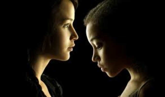 Katniss with Rue  OP8236