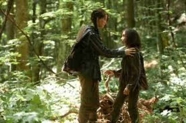 Katniss' and Rue's Plan. ss3284