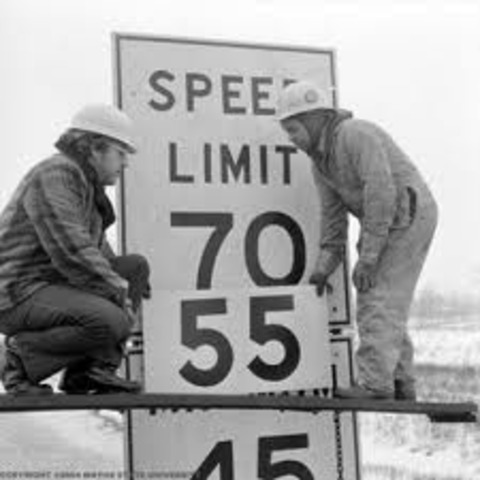 National Speed Limit 55-Sites