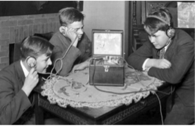 First commercial radio stations