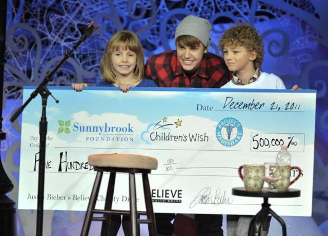 Justin Bieber's Believe Charity Drive