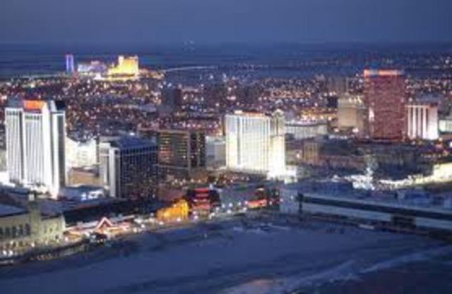 Alantic City Permits Gambling