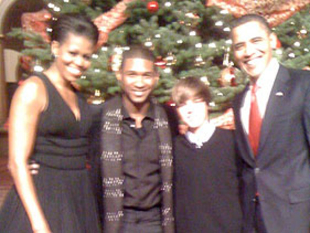 Justin Meets The President