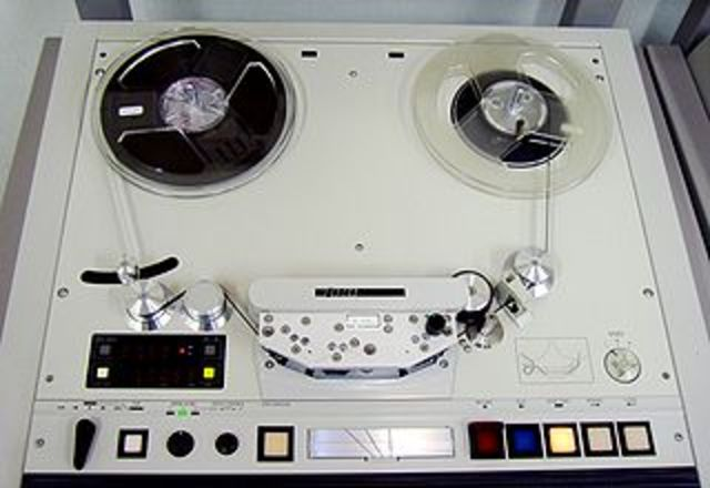 Le magnétophone à bandes