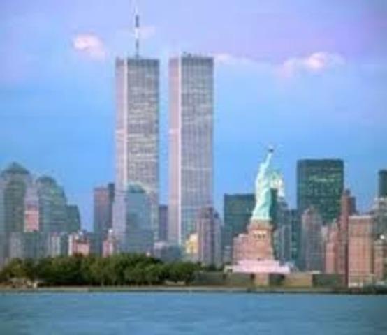 World Trade Center Built