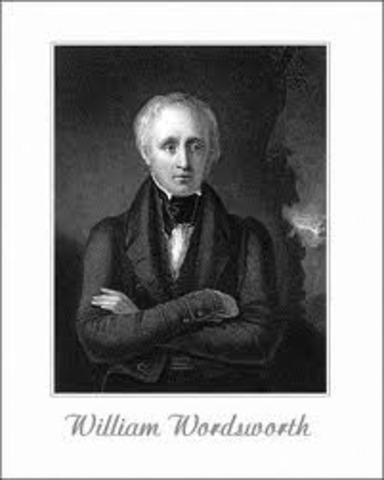 William Wordsworth becomes poet Laureate.