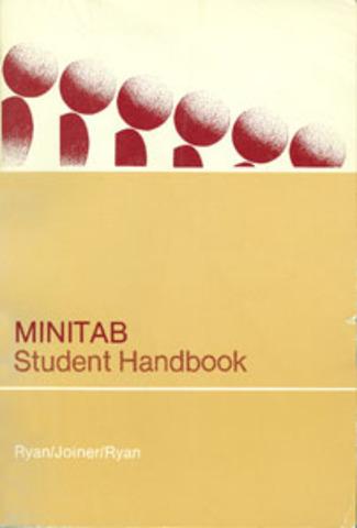 "Publication du manuel scolaire ""The MINITAB Student Handbook"""
