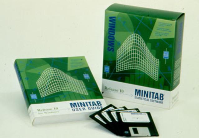 Nouveautés de Minitab 10