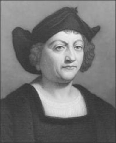 Columbus set sail to what he thought were the East Indies