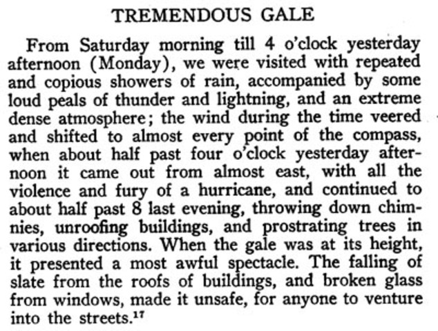 The September Gale