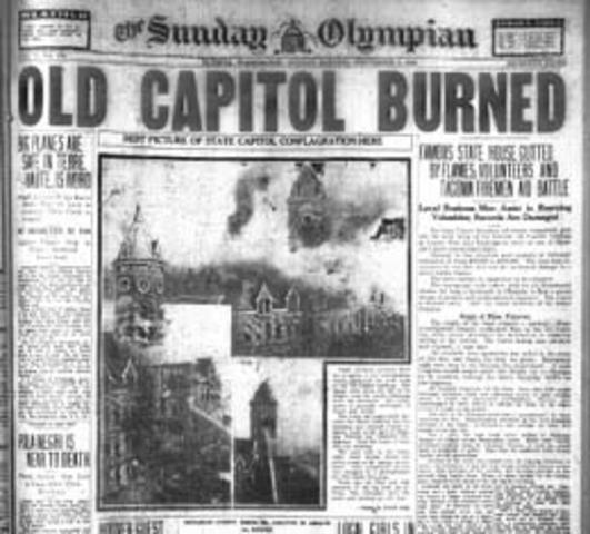 Capital burned