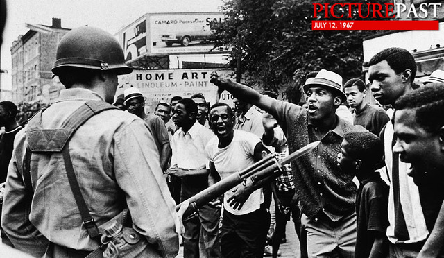 12 July 1967, Newark Riots