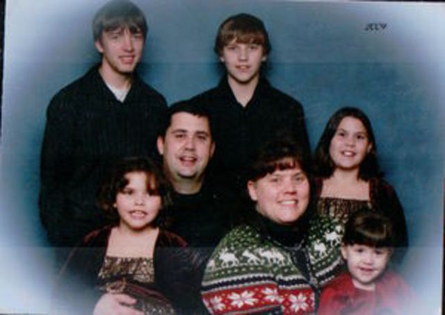 Our family picture in 2009