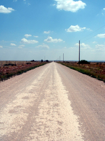 Main Road Constructed
